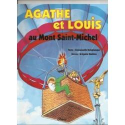 Agathe et Louis, au mont Saint-Michel - Emmanuelle Deleplanque