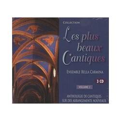 CD: Les plus beaux Cantiques - ensemble Bella Carmina