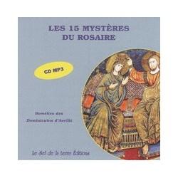 CD: Les 15 mystères du Rosaire