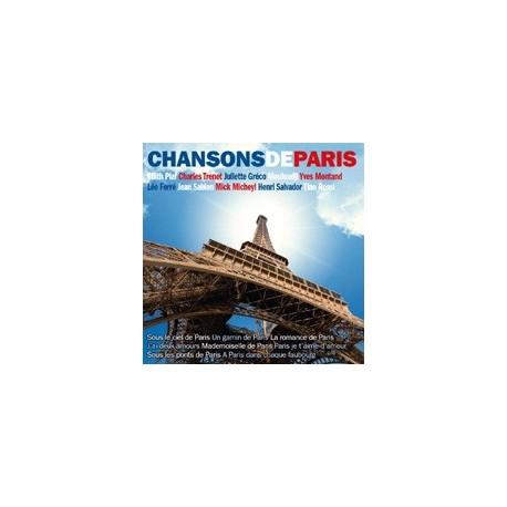 CD: Chansons de Paris (promosound)