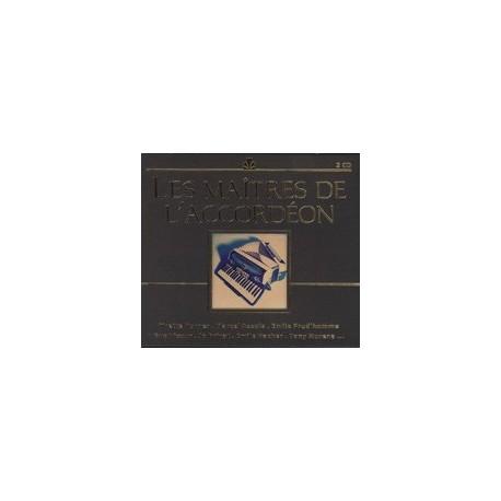 CD: Les maîtres de l'accordéon