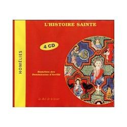 CD: L'histoire sainte - Homélies des Dominicains d'Avrillé