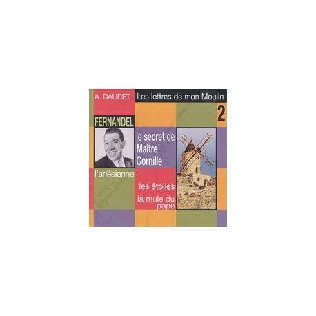 CD: Les lettres de mon Moulin - Alphonse Daudet par Fernandel, volume 2