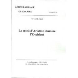 Le soleil d'Aristote illumine l'Occident - Bernard de Midelt