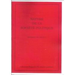 Nature de la société politique - Bernard de Midelt