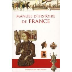 Manuel d'histoire de France - cours moyen