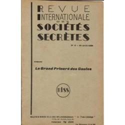 RISS - 1938, n°8 - dont : Le Grand Prieuré des Gaules