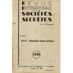 RISS - 1937, n°3 - dont : Le F. Navachine homme politique