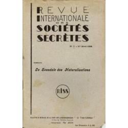 RISS N°7 - 1938