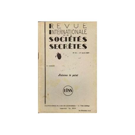 RISS N°15 - 1937