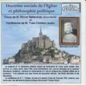 CD Doctrine sociale de l'Eglise et philosophie politique - Civitas