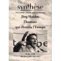 Synthèse nationale n°28 - Mai-juin-juillet-août 2012