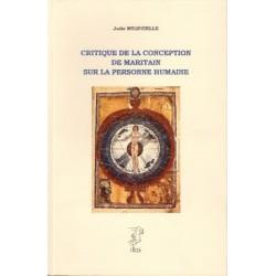 Critique de la conception de Maritain sur la personne humaine - Julio Meinvielle