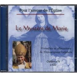 CD Le Mystère de Marie - Monseigneur Lefebvre