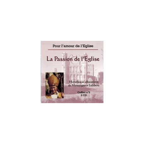 CD - La Passion de l'Eglise
