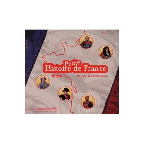CD - Petite histoire de France - vol. II