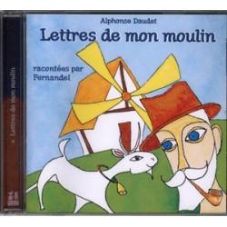 CD: Les lettres de mon Moulin - Alphonse Daudet par Fernandel