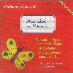 CD - Mon cahier de poésies 2