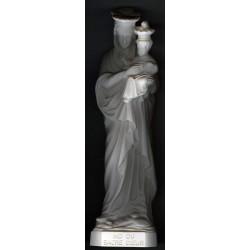 Statue ND du Sacré-Coeur (ton albâtre)