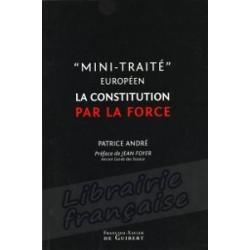 """""""Mini-Traité européen"""" La constitution par la force - Patrice André"""