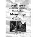 Synthèse nationale n°32 - juillet-août 2013