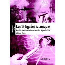 Les 13 lignées sataniques (Vol. 2) - Robin de Ruiter