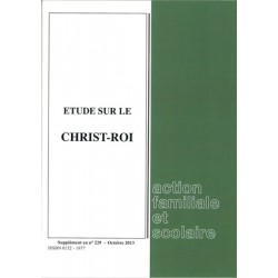 étude sur le Christ-Roi