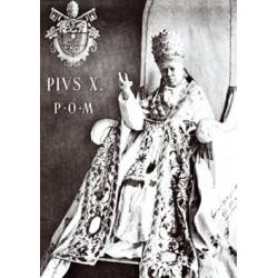 Carte postale - Saint Pie X