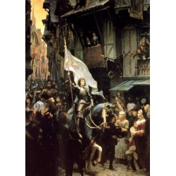 Carte postale - Jeanne d'Arc à Orléans