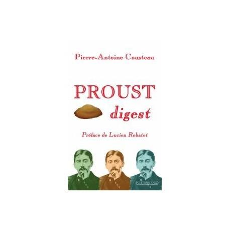 Proust digest - Pierre-Antoine Cousteau