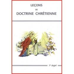 Leçons de doctrine chrétienne - 1er degré