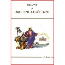 Leçons de doctrine chrétienne - 5ème degré