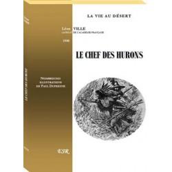 Le chef des hurons - Léon Ville