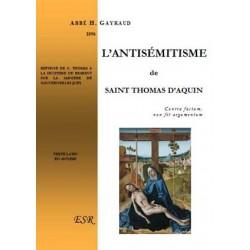 L'antisémitisme de saint Thomas d'Aquin - Abbé H. Gayraud