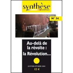 Synthèse nationale n°34 - jan-fév 2014