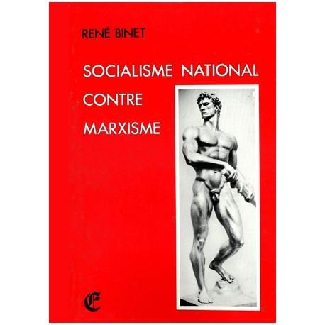 Socialisme national contre marxisme - René Binet