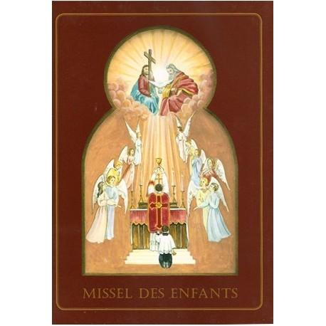 Missel des enfants (couverture rouge) - Abbé Jean de Lassus Saint-Geniès