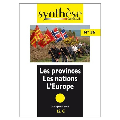 Synthèse nationale n°36 - mai-juin 2014