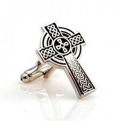 Croix de St Patrick - Boutons de manchette
