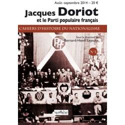 Jacques Doriot - Cahiers d'histoire du nationalisme n°3