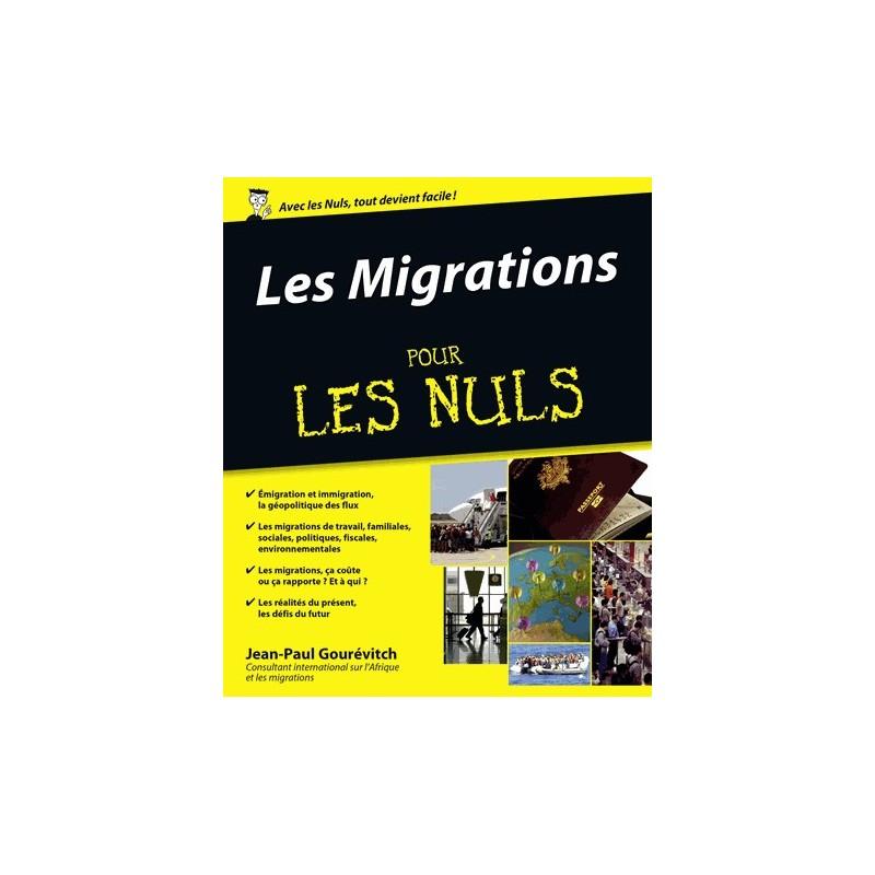 Les migrations pour les nuls jean paul gour vitch for Les travaux pour les nuls