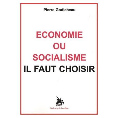 Economie ou socialisme il faut choisir - Pierre Godicheau