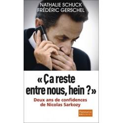 « Ça reste entre nous, hein?» - Nathalie Schuck et Frédéric Gerschel