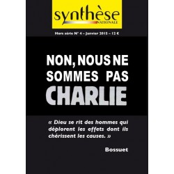 Non, nous ne sommes pas Charlie - Synthèse nationale
