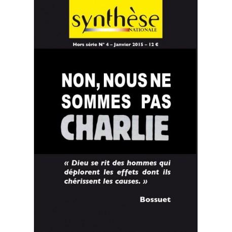 Non, nous ne sommes pas Charlie - Synthèse nationale