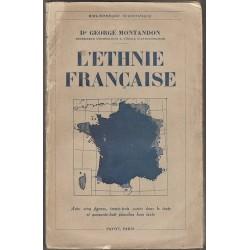 L\'ethnie française - Dr Georges Montandon