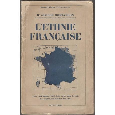 L'ethnie française - Dr Georges Montandon
