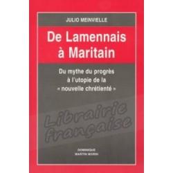 De Lamennais à Maritain - Julio Meinvielle