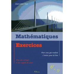 Mathématiques, Exercices - Jean-Louis Frot