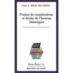 Projets de constitutions et droits de l'homme islamiques - Abu-Sahlieh